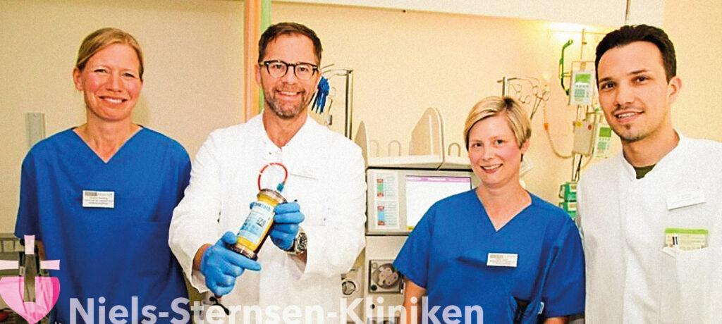 In Bramsche neues Verfahren gegen Blutvergiftungen